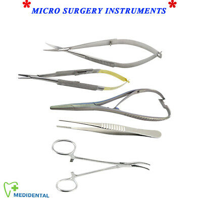 Microsurgery Castroviejo Mathieu Noyes Ciseaux Mosquito Tissue Pince Chirurgical