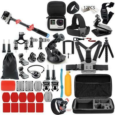 Sport Action Camera Accessories Strap Case Grip Bundle Kit for GoPro Hero SJCAM