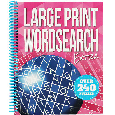 Large Print Wordsearch Extra - Pink (Paperback), Non Fiction Books, Brand New