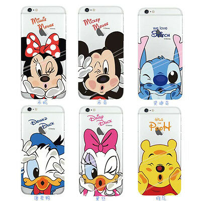 coque iphone xr transparente motif disney