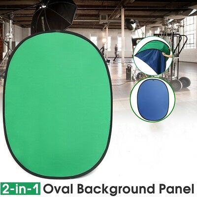 Green/Blue 2-IN-1 150x200cm Collapsible Key Background Cotton Photography Screen