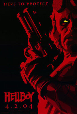 Hellboy (2004) original movie poster advance B - single-sided - rolled