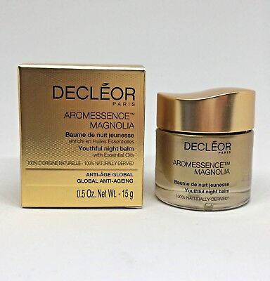 NEW (boxed) Decléor Aromessence Magnolia Youthful Night Balm | Anti-Ageing, 15ml