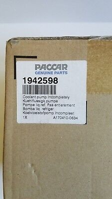 Brand new  Coolant Pump. Never been opened!  Incompletely #1942598