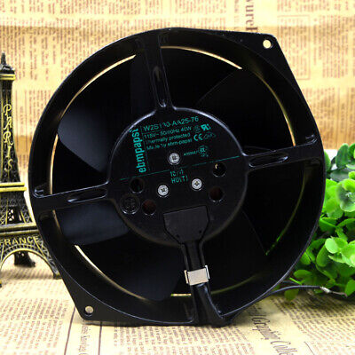 For ebmpapst W2S130-AA25-76 115V 40W 172X150X55mm high temperature cooling fan