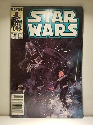 Star Wars #92 (1977 Marvel) Darth Vader / Luke Skywalker
