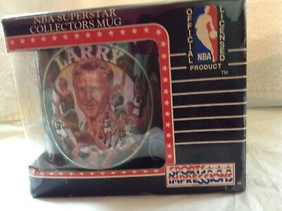 Sports Impressions Larry Bird Boston Celtics NBA Superstar Collectors Mug 1993
