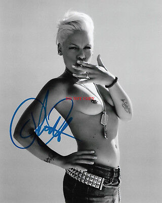 Pink  Alecia Beth Moore Autographed 8x10 Signed Photo Reprint