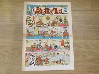 THE BEEZER COMIC, No 159 - JAN 31st 1959  Good/fair Condition