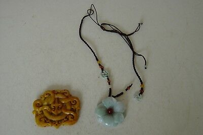 Chinese Necklace And Large Pendant
