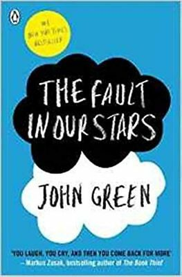 THE FAULT IN OUR STARS by JOHN GREEN (ENGLISH) - BOOK