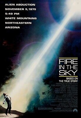 Fire In The Sky Ds Rolled Orig 1Sh Movie Poster Sci-Fi Ufo Abduction (1993)