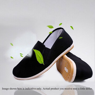 Men Kung Fu Shoes Slippers Dancing Tai Chi Shoes Rubber Sole Junior & Adults