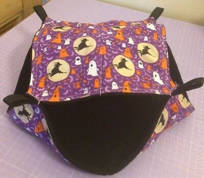 New Double Decker Quilted Hammock For Rats+small Animals. 🎃👻HALLOWEEN 🎃👻
