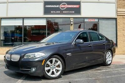 BMW 5-Series  low mile free shipping warranty luxury finance 2 owner clean carfax awd 550i v8