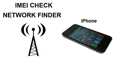 iPhone IMEI Checker Network Carrier Check SIM Lock Status Check All Models