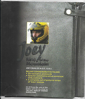 Isle of man 2001 Joey King of the Mountain - Born to Win Joey Dunlop MBE OBE