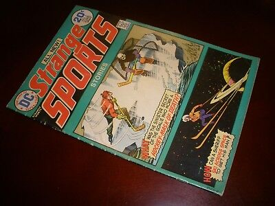 DC Comics Strange Sports Stories # 5 Nice Copy