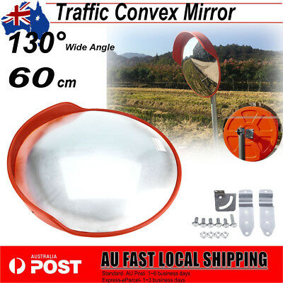 60cm CONVEX BLIND SPOT SAFETY MIRROR TRAFFIC DRIVEWAY SHOP JUNCTION AU Shipping