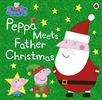 Peppa Pig: Peppa Meets Father Christmas by Peppa Pig Paperback Book Free Shippin