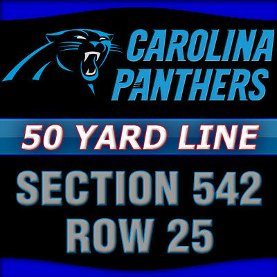 detailed look 84e8a 85b72 CAROLINA PANTHERS VS NEW YORK GIANTS TICKETS