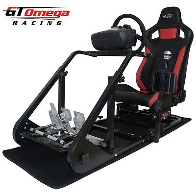 GT Omega ART Simulator Cockpit RS6 for Fanatec Clubsport wheel pedal, SQ Shifter