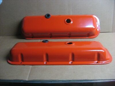 70-73 Chevrolet V8 454 C.i.d. Valve Covers W/Drippers (Original Gm)