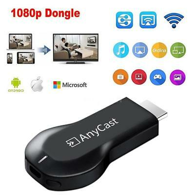 WiFi AnyCast Display Dongle Receiver 1080p HDTV Stick DLNA Miracast Airplay U6M5