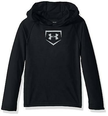 Under Armour Boys Youth Baseball Threadborne Hoodie T-Shirt Size YXL Youth XL NW