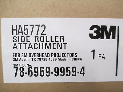 3M HA5772 Side Roller Attachment for Film Rolls for Overhead Projectors