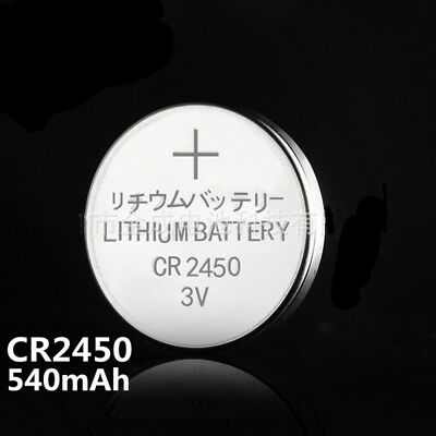 5X CR2450 BR2450 ECR2450 DL2450 5029LC 3V Button Cell Alkaline Battery Wholesale