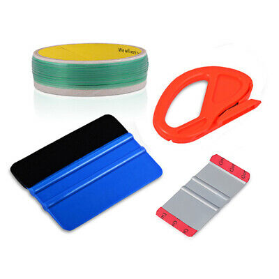 Knifeless Finish Line Tape  Squeegee Knife 10 Blades Vinyl Car Wrapping Tools
