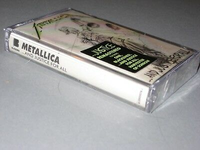 METALLICA  ...And Justice for All CASSETTE TAPE (Remastered) New Sealed CASS