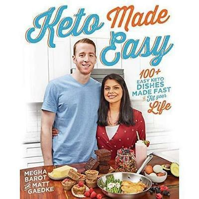 Keto Made Easy 100 + Easy Keto Dishes Made Fast Fit 1 minute Delivery[EB00k/PDF]