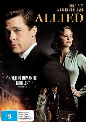 Allied (DVD, 2017)