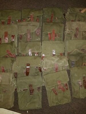 Surplus Romanian AK Rifle Mag Pouch (3 Pack)