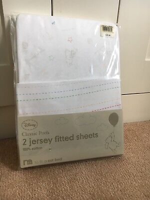 Cot Bed Sheets Winnie The Pooh 2 Pack