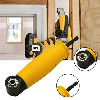 Mini Right Angle Drill Attachment 90 Degree Electric Cordless Chuck Adapter