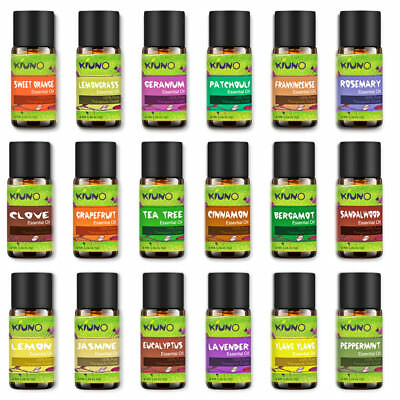 KIUNO Essential Oils 8ml Pure Natural Aromatherapy Therapeutic Oil Fragrance AU