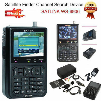 SatLink WS-6906 Digital Satellite Dish Search Device Signal Finder Meter NEW UK