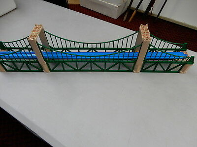 "Thomas The Tank Engine Tomy ""large Suspension Bridge""  Gc"