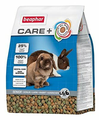 Beaphar Care+ alimentation super premium - lapin sénior - 1,5 kg