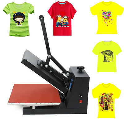 "Digital 15"" X 15""CLAMSHELL HEAT PRESS T-SHIRT PAINT TRANSFER SUBLIMATION MACHINE"