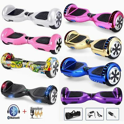 """6.5"""" Smart électrique Scooter Self Balancing Scooter Overboard Bluetooth LED"""
