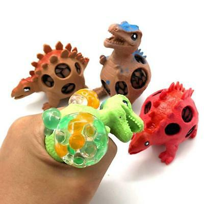 Dinosaur Grape Shape Venting Ball Squeeze Squishy Stress Relief Kids Gift