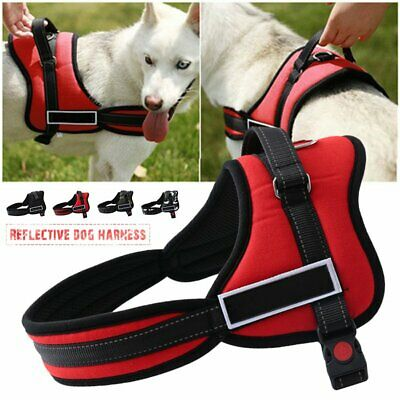 No Pull Dog Harness Outdoor Adventure Pet Vest Padded Handle- Small -Extra Large