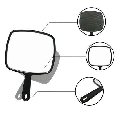 Beauty & Hairdressing Plastic Hand Held Mirror Makeup Handle Mirror Portable UK
