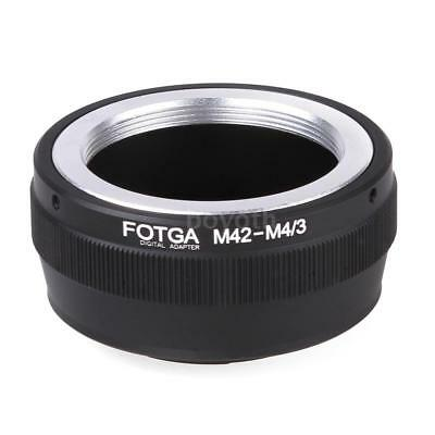 Fotga Adapter Ring for M42 Lens to Micro 4/3 Mount Camera Olympus DSLR NEW T1Q9