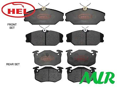 Hel Performance Renault Clio Sport 172 182 Competition Front & Rear Brake Pads