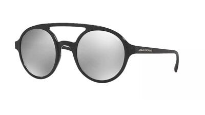 dd566f9230b NWT ARMANI EXCHANGE Sunglasses AX 2022S 60006G Matte Black   Mirror ...